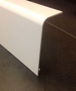 Afdekprofiel tussen de loopwagens DB tot 1600mm, kleur wit