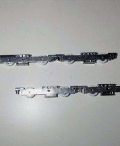 GU (tandem)loopwagens gu 934 tot 450KG sponninghoogte 57MM