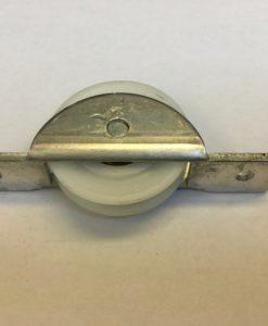 Enkel loopwiel nylon wieldiameter 43MM