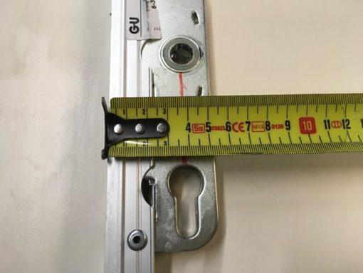 Schuifpui slot gu 943 met Doornmaat 37.5 millimeter