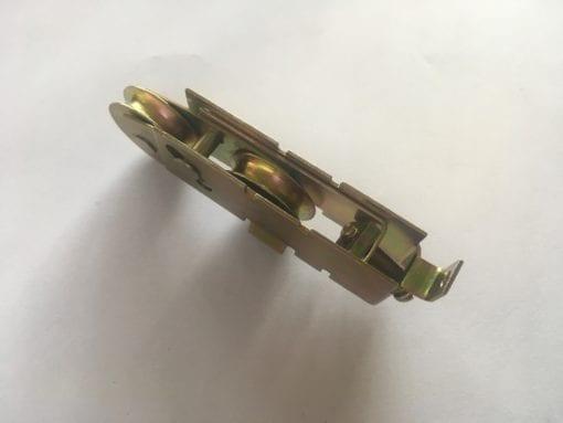 Schuifpui Wielen (staal) voor Eland Brandt Schuifpui 32 millimeter