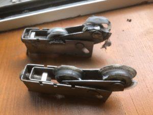 Schuifpui wielen vervangen